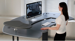 Desk | biomorphdesk.com | Biomorph Adjustable Computer Furniture