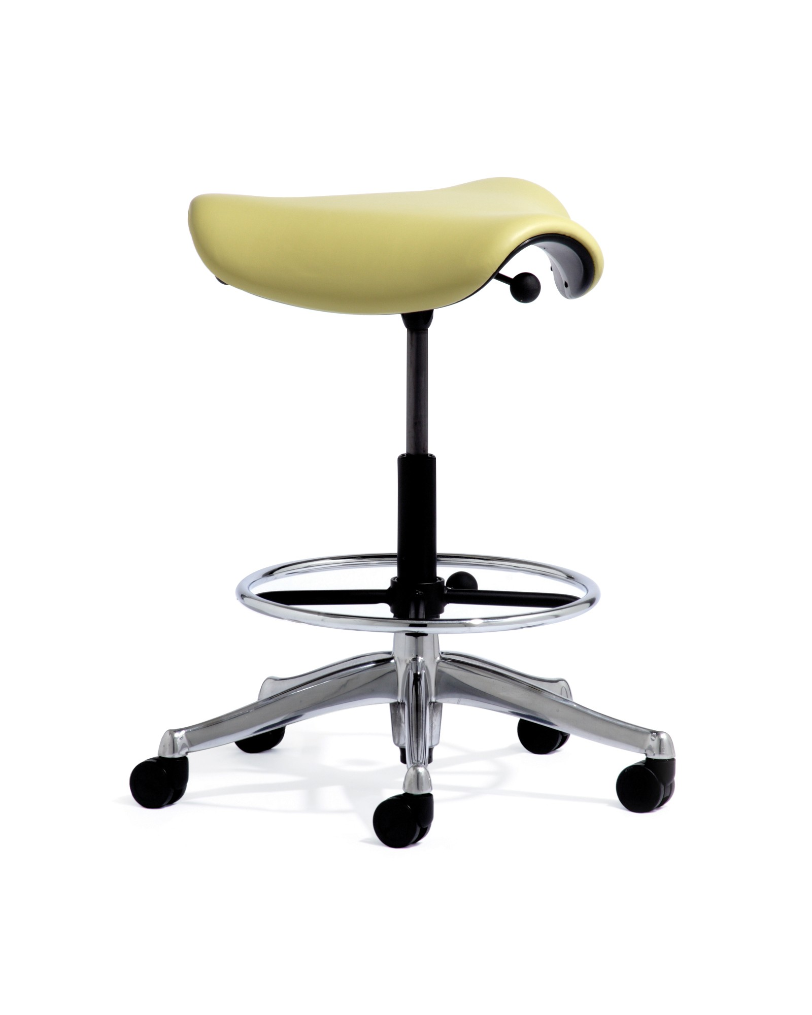 Humanscale Saddle Stool | Biomorph Adjustable Computer Furniture