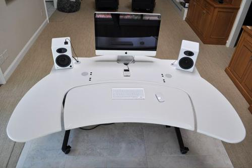 Multi Desk, White Top - Click here to view product page